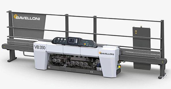 دستگاه پخ زن VB350 محصول شرکت GLASTON BAVELLONI