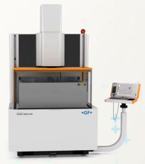دستگاه سی ان سی اسپارک مدل FORM 3000 محصول شرکت GF