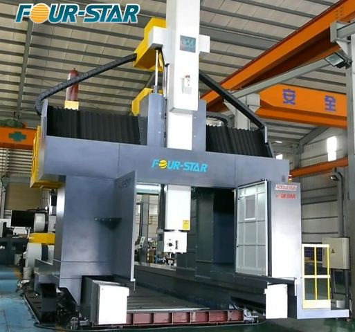 دستگاه سی ان سی فرز دروازهای مدل HDT-21 محصول شرکت Four-Star