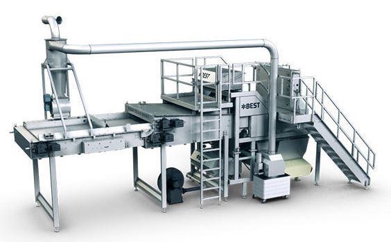 دستگاه سورتینگ مدل TB5 1600 محصول شرکت Tomra