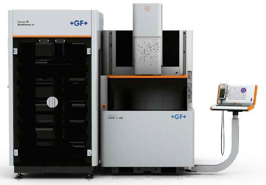 دستگاه سی ان سی اسپارک مدل FORM X 400 محصول شرکت GF