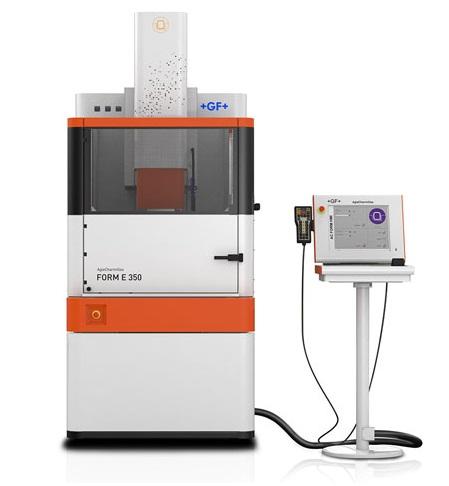 دستگاه سی ان سی اسپارک مدل FORM E 350 محصول شرکت GF