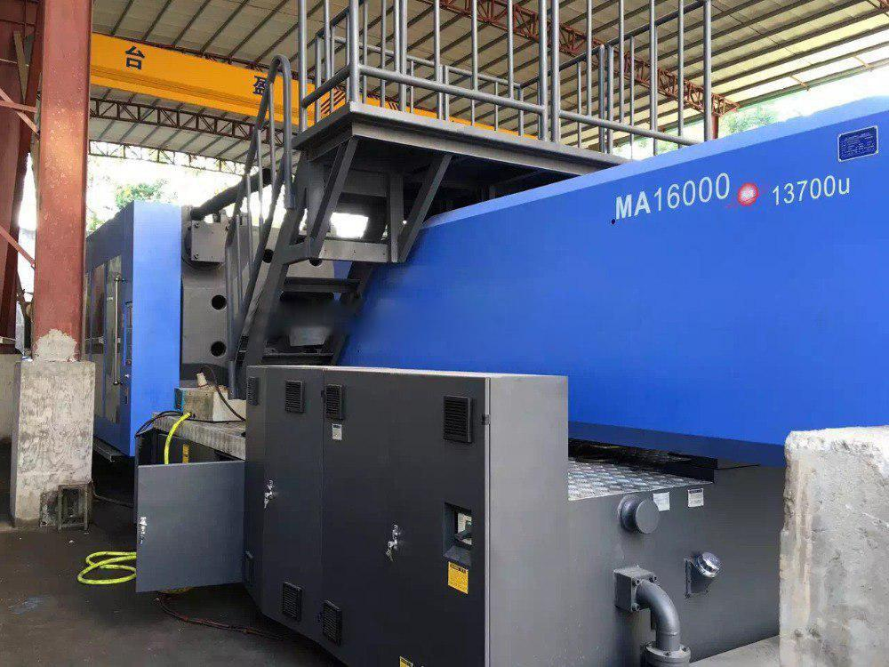 دستگاه تزریق پلاستیک MA-16000 محصول شرکت Haitian
