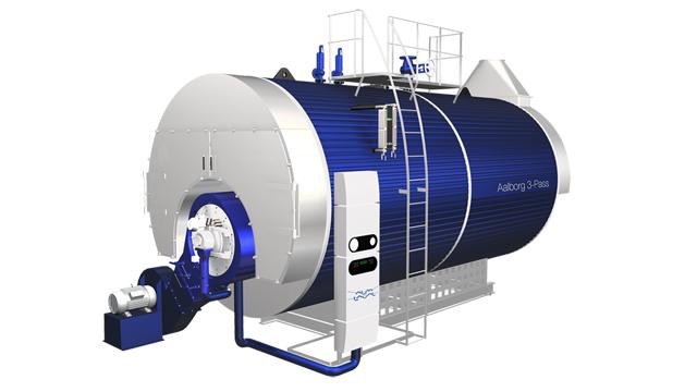 دیگ بخار سری Aalborg 3-pass محصول شرکت آلفالاوال