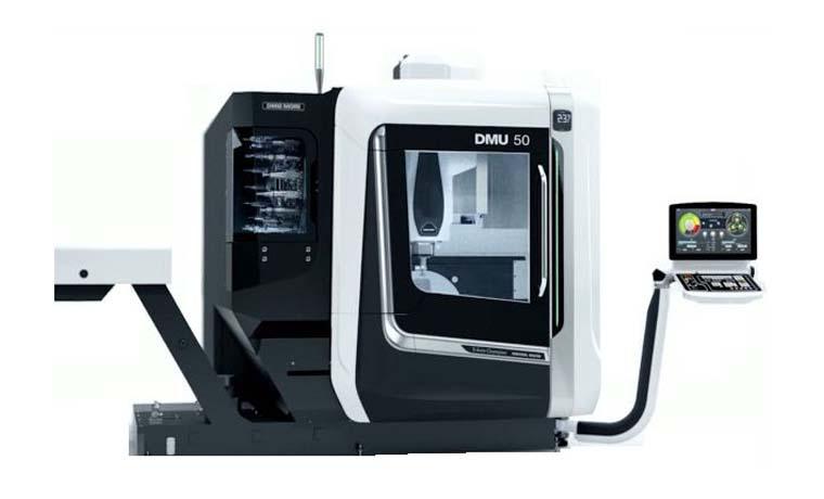دستگاه سی ان سی فرز مدل DMU50 محصول شرکت DMG Mori Seiki