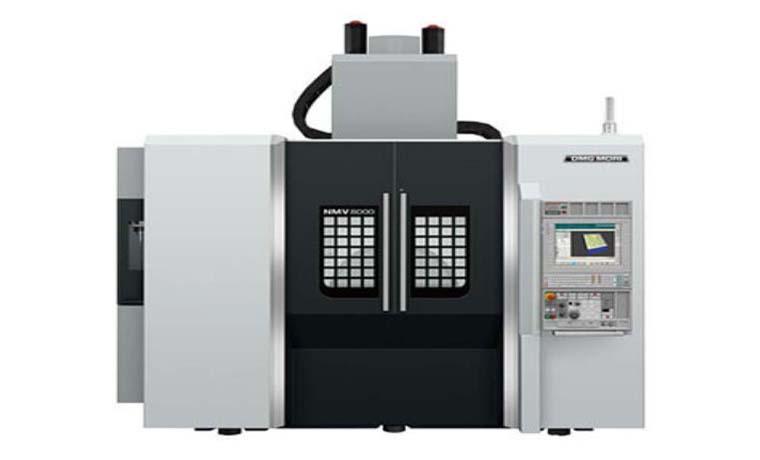 دستگاه سی ان سی فرز مدل NMV8000DCG محصول شرکت DMG Mori Seiki