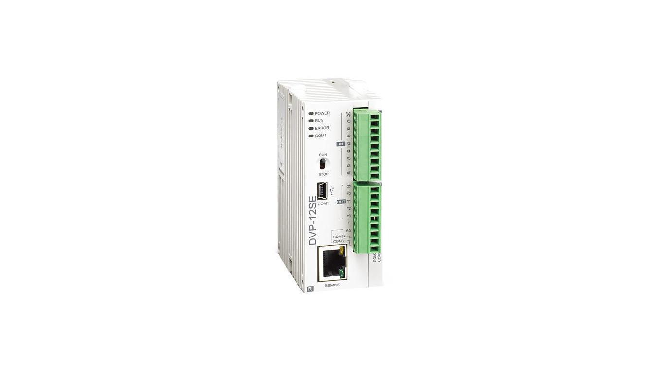 سیستم PLC مدل (DVP-12SE (T/R محصول شرکت دلتا